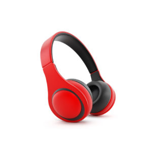 red-trendy-headphones